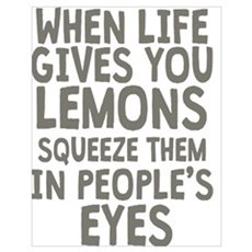 Life Gives You Lemons Poster