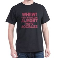 Introvert Social Anxiety Humor T-Shirt