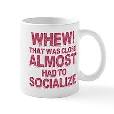 Introvert Social Anxiety Humor Mug