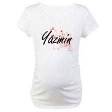 Yazmin Artistic Name Design with Shirt