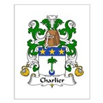 Charlier Family Crest Small Poster