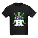 Charlier Family Crest Kids Dark T-Shirt