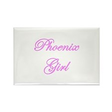 Phoenix Girl Rectangle Magnet (100 pack)