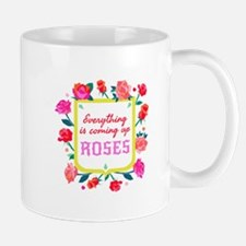 Everything is Coming up Roses Shield Sigil Mugs