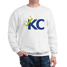 Swagged Crown Tee Sweatshirt