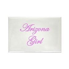 Arizona Girl Rectangle Magnet (100 pack)