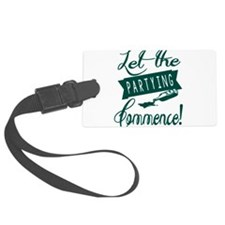 Drinking Party Humor Luggage Tag