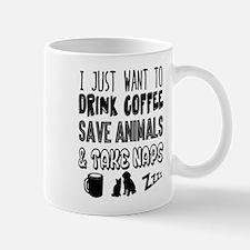Coffee Animals & Naps Mugs