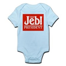 JEB BUSH PRESIDENT 2008 Infant Creeper