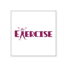 Exercise Sticker