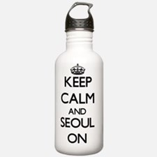 Keep Calm and Seoul ON Water Bottle