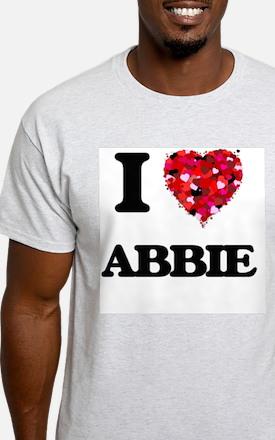 I Love Abbie T-Shirt