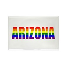 Arizona Gay Pride Rectangle Magnet (100 pack)