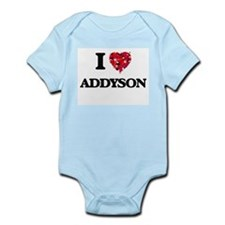 I Love Addyson Body Suit