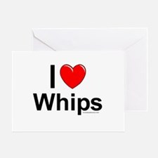 Whips Greeting Card