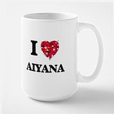 I Love Aiyana Mugs