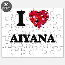 I Love Aiyana Puzzle