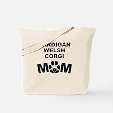 Cardigan Welsh Corgi Mom Tote Bag