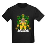 Chardon Family Crest Kids Dark T-Shirt