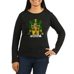 Chardon Family Crest Women's Long Sleeve Dark T-Sh