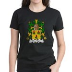 Chardon Family Crest Women's Dark T-Shirt