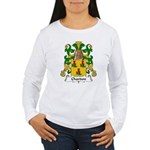 Chardon Family Crest Women's Long Sleeve T-Shirt