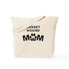Basset Hound Mom Tote Bag