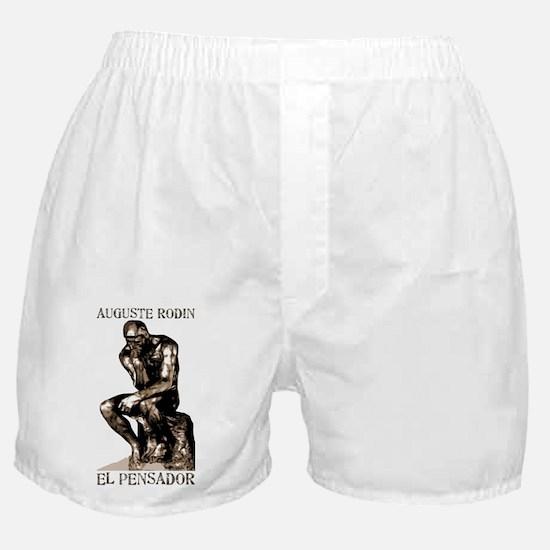 Rodin Thinker Remake Boxer Shorts