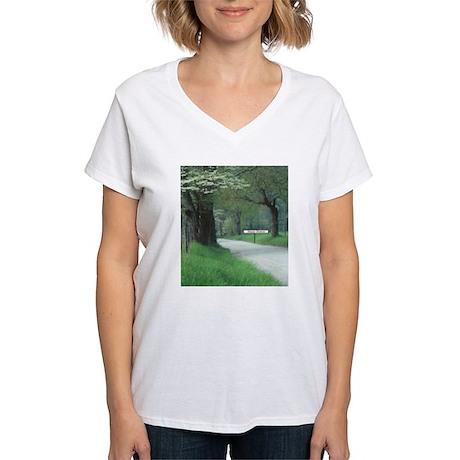 Happy Destiny Women's V-Neck T-Shirt