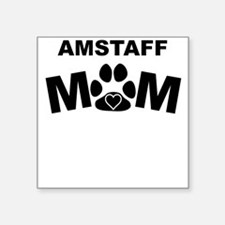 AmStaff Mom Sticker