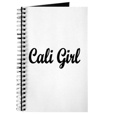 """Cali Girl"" Journal"