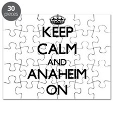 Keep Calm and Anaheim ON Puzzle