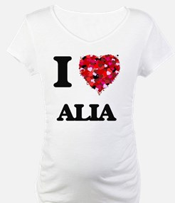 I Love Alia Shirt