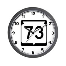 Highway 73, Wisconsin Wall Clock