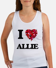 I Love Allie Tank Top