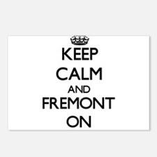 Keep Calm and Fremont ON Postcards (Package of 8)