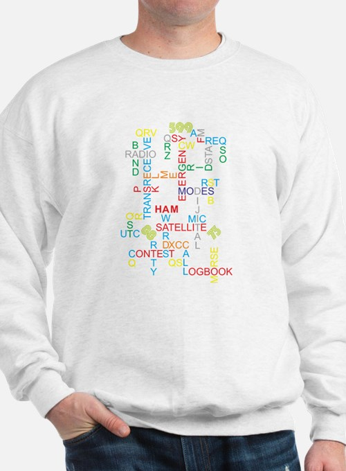 HAM RADIO WORDS Sweatshirt