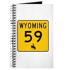 Highway 59, Wyoming Journal
