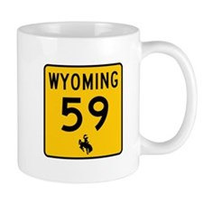 Highway 59, Wyoming Mug