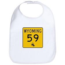 Highway 59, Wyoming Bib