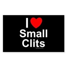 Small Clits Decal