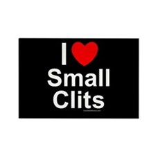 Small Clits Rectangle Magnet