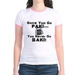 Once You Go Paki... Jr. Ringer T-shirt