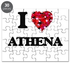 I Love Athena Puzzle