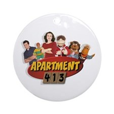 Apartment 413 Ornament (Round)