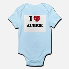 I Love Aubrie Body Suit
