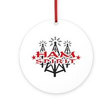 Ham Spirit Ornament (Round)