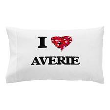 I Love Averie Pillow Case