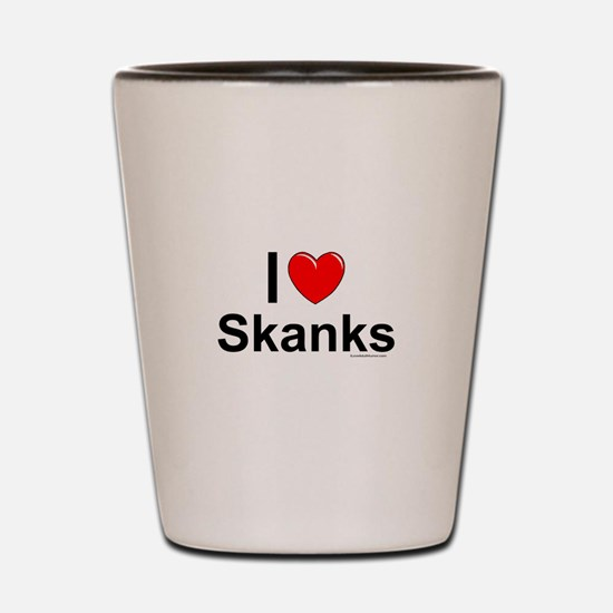 Skanks Shot Glass