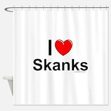 Skanks Shower Curtain